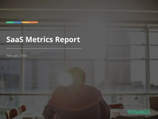 5th Annual SaaS Metrics Report