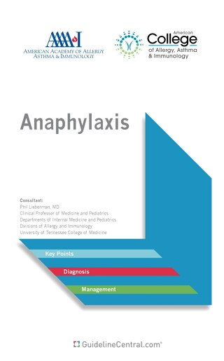 Anaphylaxis 2016