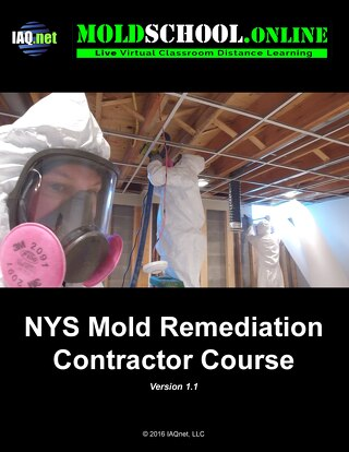 NYS Mold Remediation Contractor Course v1.1- Interactive