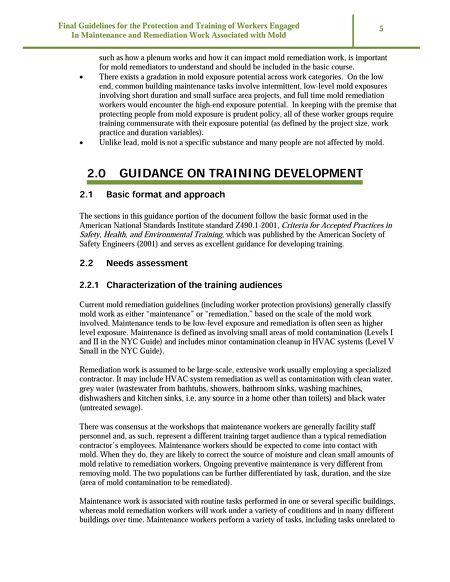 iaqschool online docs worker mold protection guide rh hi iaq net new york marathon training guide nyc marathon training guide