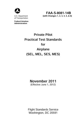 Private Pilot PTS-FAA Website Free Download
