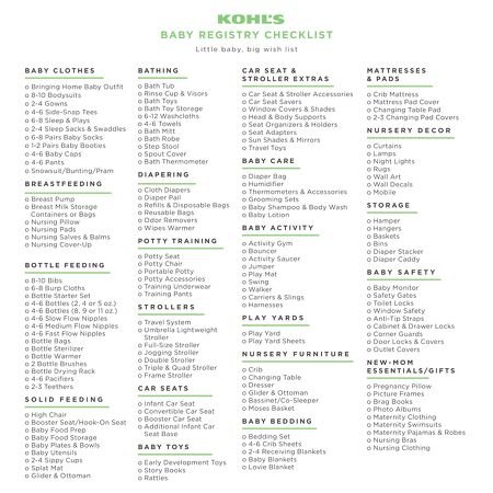 Kohls Baby Clothes Stunning KOHL'S The Baby Registry At Kohl's