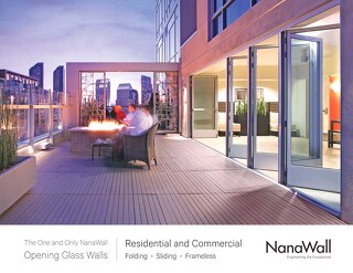 NanaWall Opening Glass Walls