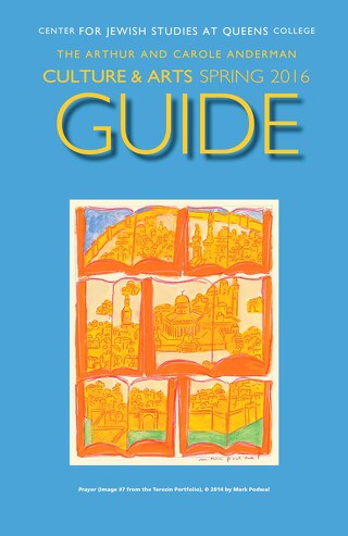 Jewish Studies Culture Guide - Spring 2016