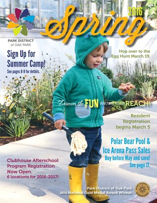 Park District of Oak Park Spring 2016 Program Guide