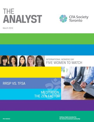 The Analyst March 2016