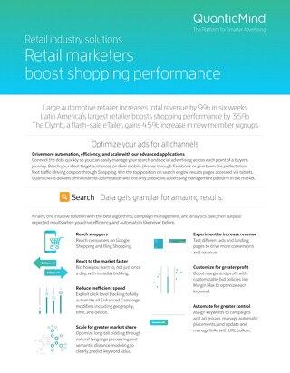 QuanticMind Retail Industry Datasheet