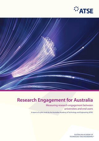 Research Engagement for Australia: Measuring research engagement between universities and end users (Pilot Report)