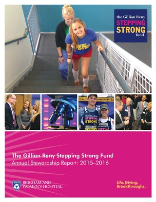 Stepping Strong Stewardship Report - 2016