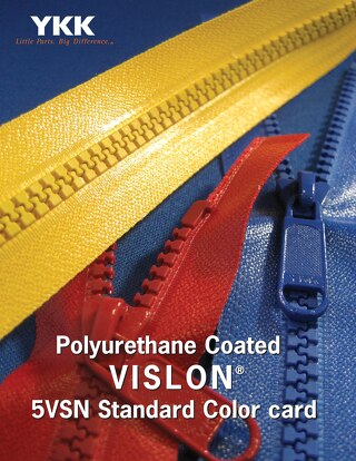 Polyurethane Coated Vislon® zipper