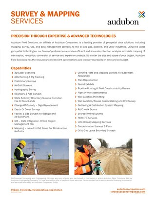 Survey and Mapping