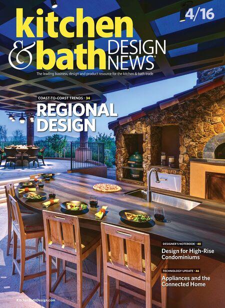 Kitchen & Bath Design News - APR 2016 on kitchen and bathroom remodeling, kitchen and bath design, kitchen makeovers with viking ovens, kitchen magazine's 2013, kitchen and bath magazine logo, construction news,