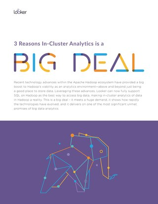 3 Reasons In-Cluster Analytics is a Big Deal