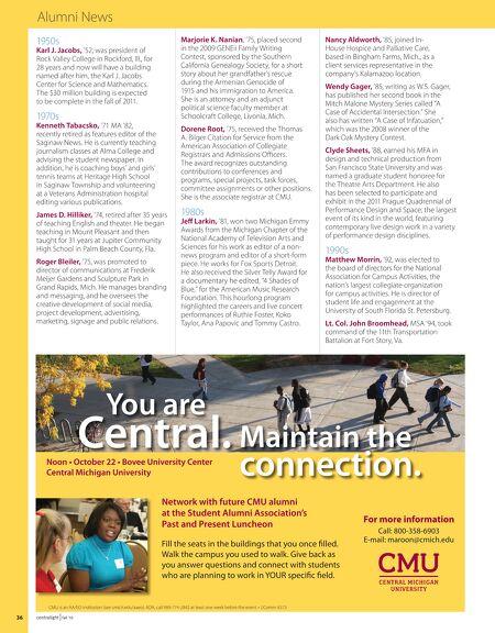 Centralight Fall 2010