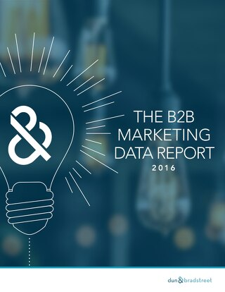 The B2B Marketing Data Report