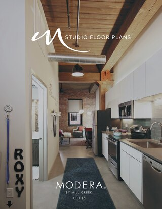 Modera Lofts Studio Floor Plans