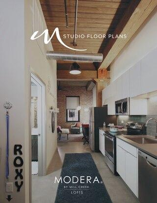 Modera Lofts Studio Floor Plans