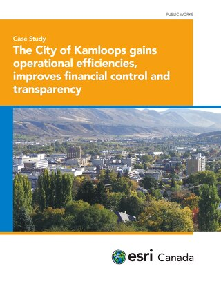 The City of Kamloops Gains Operational Efficiencies, Improves Financial Control and Transparency