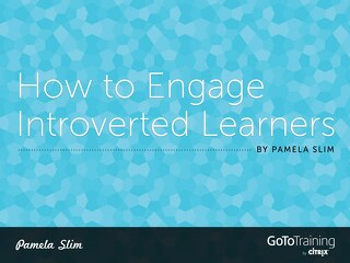 How to Engage Introverted Learners
