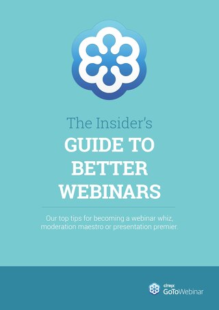 The Insider's Guide To Better Webinars