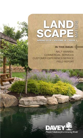 Landscape Matters: Spring 16 Issue