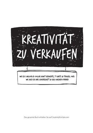 Kreativität zu verkaufen