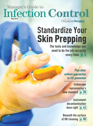 Manager's Guide to Infection Control - May 2016