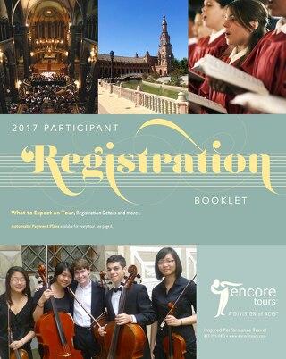 2017 Registration Booklet