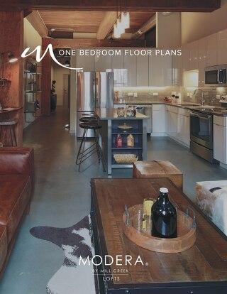 Modera Lofts One Bedroom Floor Plans