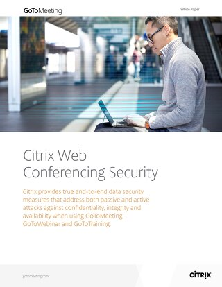 Citrix Web Conferencing Security