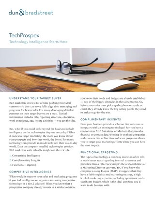 TechProspex: Technology Intelligence Starts Here