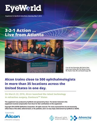EW MAY 2016 - Daily 1 - Supported by Alcon a Novartis Company