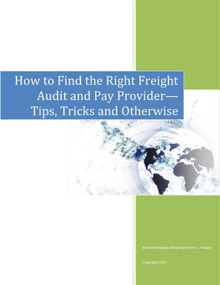 How To Find The Right Freight Audit Provider