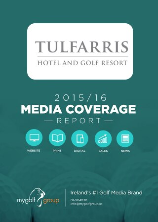 Tulfarris Golf Club - 2015/16 Coverage Report