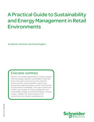 A Practical Guide to Sustainability and Energy Management in Retail Environments