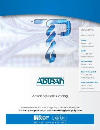 Adtran Solutions 2016