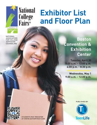 2013 Boston National College Fair Official Guide