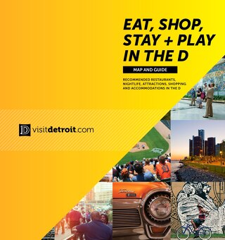 Eat, Shop, Stay + Play map 2016