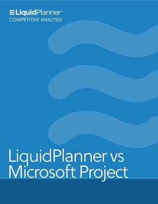 LiquidPlanner vs Microsoft Project