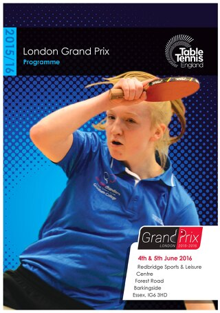 2015/16 London Grand Prix online programme