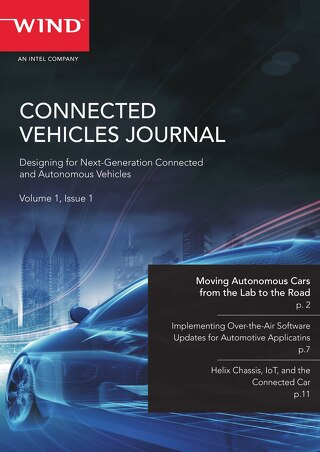 Connected Vehicles Journal - Volume 1, Issue 1