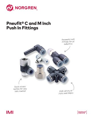 Pneufit C Fittings (Inch) - z7417BR