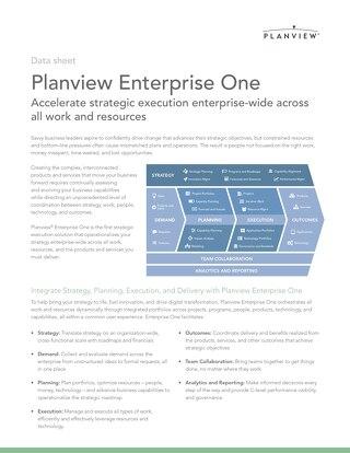 Planview Enterprise