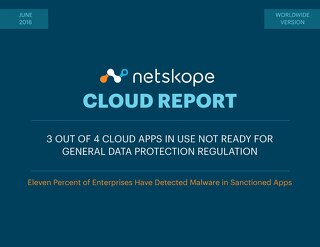 Worldwide Netskope Cloud Report - June 2016