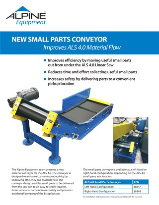 ALS 4.0 Small Parts Conveyor