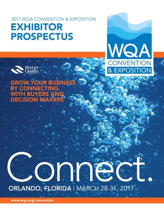 2017 WQA Convention & Exposition Exhibitor Prospectus