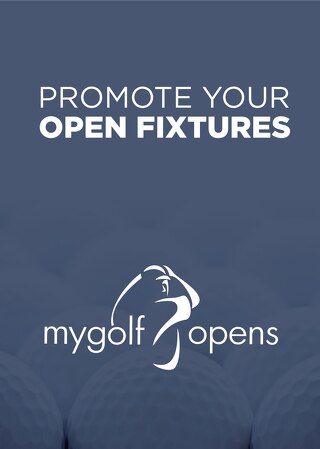 My Golf Opens - Promote Your Open Week