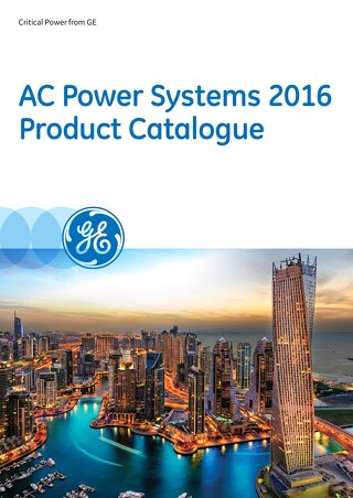 AC Power Systems 2016 Product Catalogue