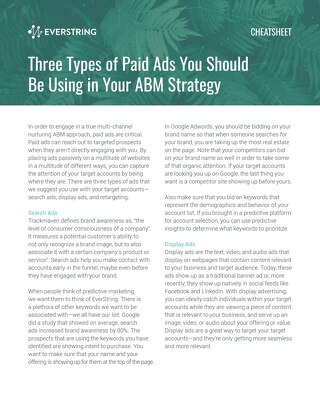 Three Types of Paid Ads You Should Be Using in Your ABM Strategy