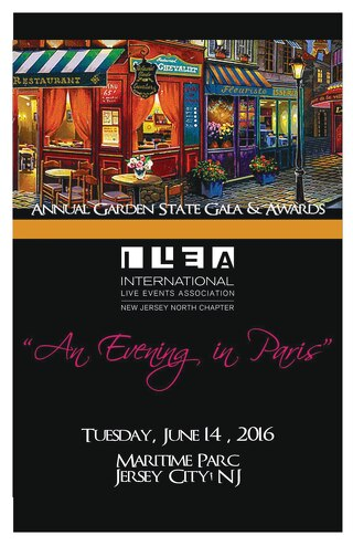 2016 ILEA NJ North Chapter Gala Awards Program